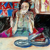 Im Cafe by Eva Demuth