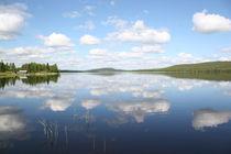 Wolkenspiel am Raanujärvi - Finnland von oktopus4