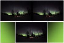 Das Nordlicht in Finnland am Raanujärvi 13