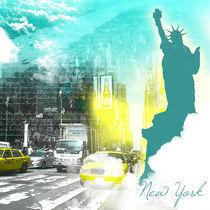 Reisetraum - III New York von Katrin Parnitzke