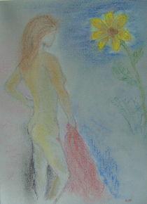 Die Sonnenblumenfrau von sansara