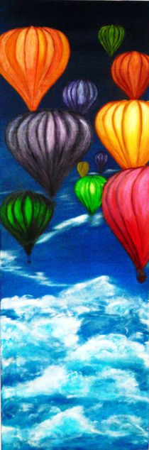 Ballonfahrt by Sylvia Hackhausen