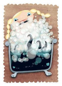The bubble bath monster