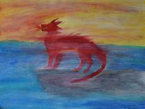 Drache im Morgennebel by kattobello
