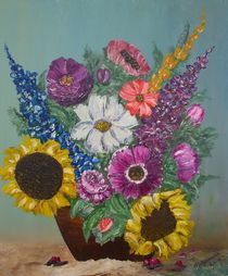 Rustikaler Blumenstrauß von Horst Rehmann