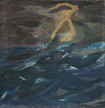 Gewitterluft auf See von Jochen Schmiedeck