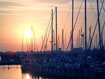 Abendstimmung am Yachthafen von peter norden