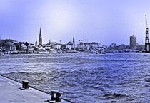 Hamburg Elbe von peter norden