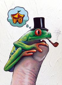 Frosch mit Ziel von Sascha Kayser