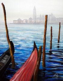Venedig im Nebel von Wolfgang Rasputin