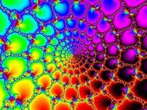 Netz aus Licht und Farbe by inti