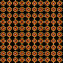 Muster wie Blumen von inti