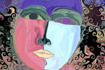 Zwei Gesichter von inti