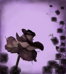 ...Wenn die Rosen Trauer tragen...  Variante I von inti