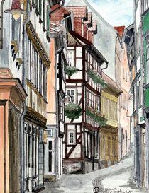 Mittelalterliche Stadt von Marie Luise Strohmenger