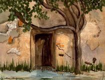 Mediteranian Door von Marie Luise Strohmenger