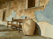 Der Klostergang von Marie Luise Strohmenger