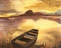 Die Stille am Ufer by Marie Luise Strohmenger