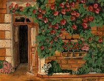 Die Rosentuer von Marie Luise Strohmenger