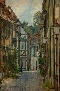 Altstadtgasse von Marie Luise Strohmenger