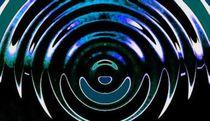blaue nacht - kpmart von mixedart