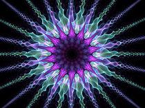 Nachtblume von fraktalise