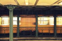 Untergrundbahn by Ines Schäfer