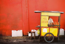 Strassenhändler Indonesien von bildbauer