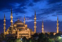 Blaue Moschee von Reinhard Dirscherl