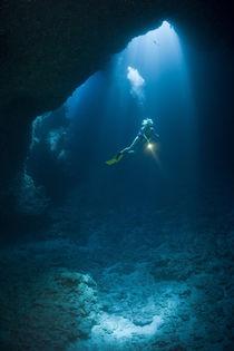 Unterwasserhöhle von Reinhard Dirscherl