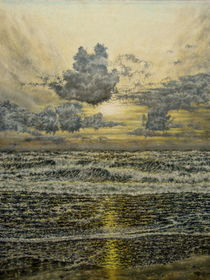 Meeresabend von Wilhelm Brück