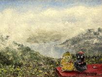 Knäutsche am Thuner See von Wilhelm Brück