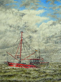 Krabbenkutter by Wilhelm Brück