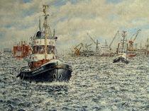 Im Hafen by Wilhelm Brück