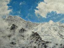 Berner Oberland - Silberhörner von Wilhelm Brück