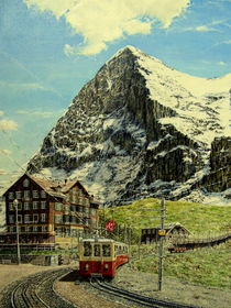 Eiger-Nordwand by Wilhelm Brück