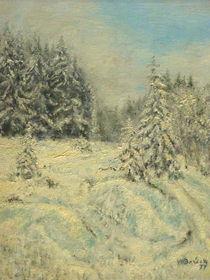 Winterwald by Wilhelm Brück