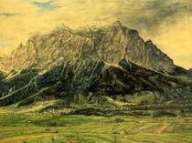 Zugspitze von Wilhelm Brück