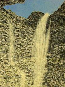 Wassersturz by Wilhelm Brück