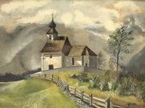 Das Kirchlein an des Weges Rand... by Wilhelm Brück