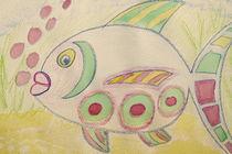 Dicker Fisch auf Sylt von Ursula Guthier