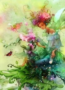 'Flower fairy series——Spring is coming' by carol