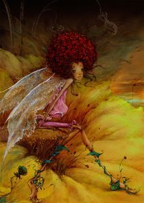 Flower fairy series——The wind gently blowing by carol