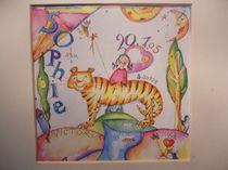 tiger sophia by lanakunst