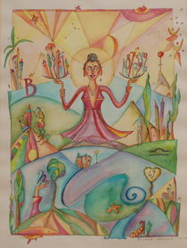Buddha-Waage by lanakunst