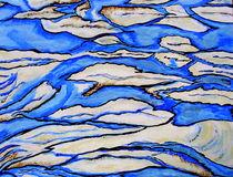 blaues Durcheinander von Cornelia Greinke