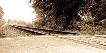 Eisenbahngleis von Petra Dammann