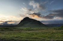Sonnenuntergang in Island von Michael Mayr
