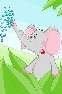 Elefant aus Afrika von Michaela Heimlich