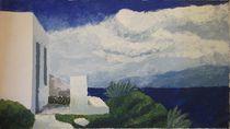 Stürmisches Wetter bei Matala von Detlef Georgi